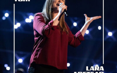Lara Anstead made to to TEAM TOM on The Voice UK